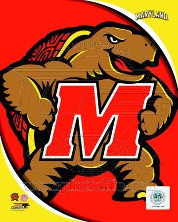 University of Maryland Terrapins Team Logo