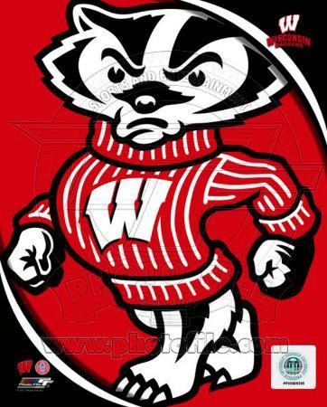 University of Wisconsin Badgers Team Logo