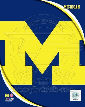 University of Michigan Wolverines Team Logo