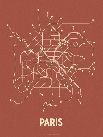 Paris (Brick Red & Tan)