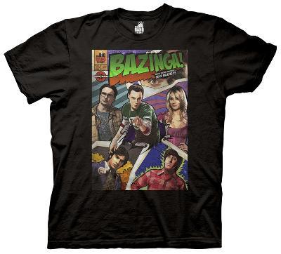 The Big Bang Theory - Bazinga Comic Book Cover