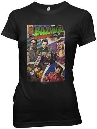 Juniors: The Big Bang Theory - Bazinga Comic Book Cover
