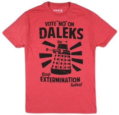 Doctor Who - Vote No On Daleks