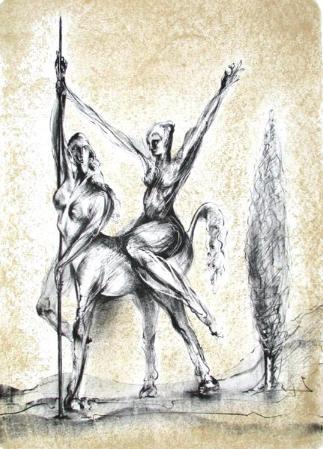 Amazone Et Centauresse