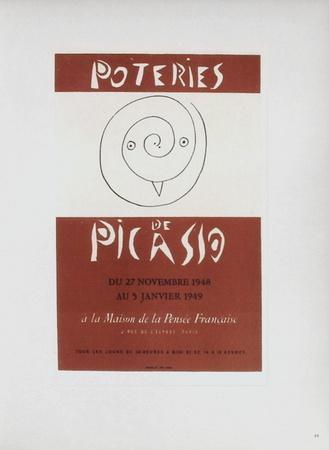 AF 1948 - Poteries de Picasso