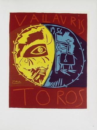 AF 1956 - Toros en Vallauris