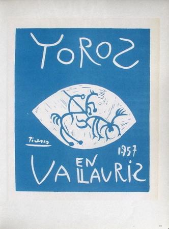 AF 1957 - Toros en Vallauris