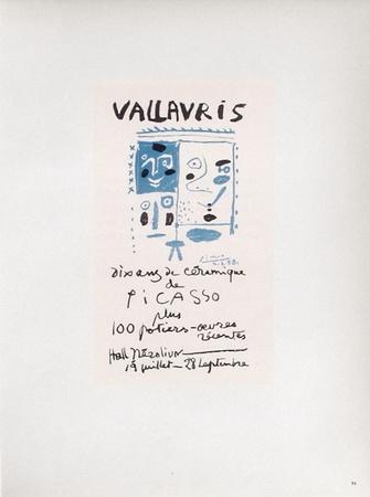 AF 1958 - Vallauris 10 ans de céramique