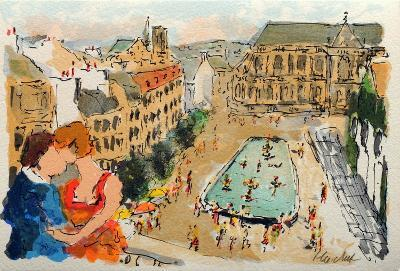 Paris, La Fontaine Stravinsky