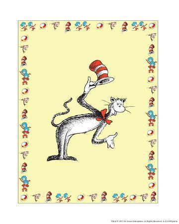 The Cat in the Hat: The Cat (on yellow)