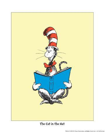 The Cat in the Hat (on yellow)