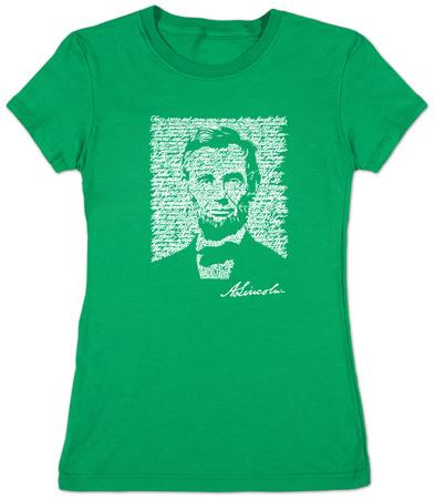 Women's: Lincoln - Gettysburg Address