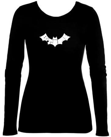 Women's: Long Sleeve - Bite Me Bat