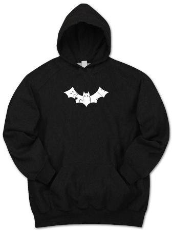 Hoodie: Bite Me Bat