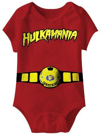 Infant: Hulk Hogan - World Champ Onesie