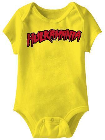 Infant: Hulk Hogan - Hulkamania Onesie