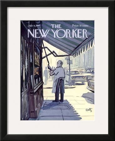 The New Yorker Cover - July 8, 1967