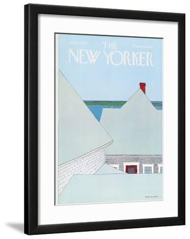 The New Yorker Cover - June 23, 1975