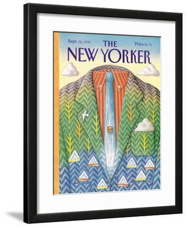 The New Yorker Cover - September 16, 1991