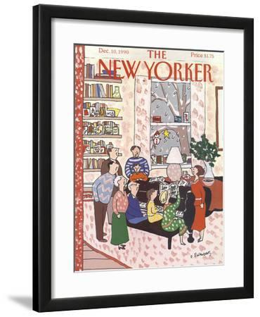 The New Yorker Cover - December 10, 1990