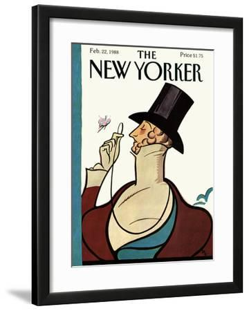 The New Yorker Cover - February 22, 1988