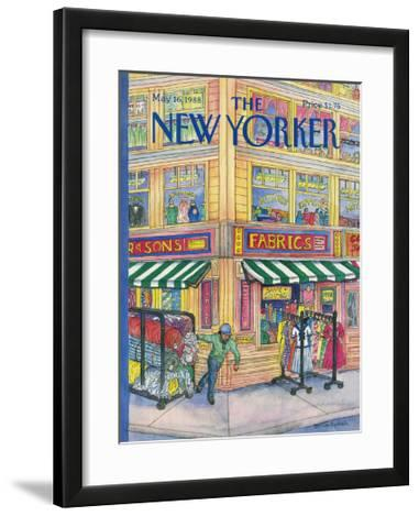 The New Yorker Cover - May 16, 1988