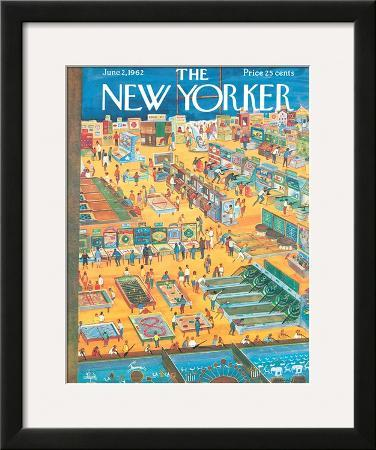 The New Yorker Cover - June 2, 1962