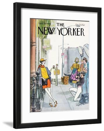 The New Yorker Cover - April 21, 1980