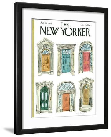 The New Yorker Cover - July 16, 1979