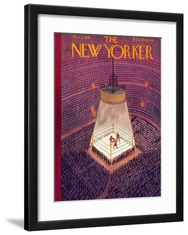 The New Yorker Cover - March 8, 1930