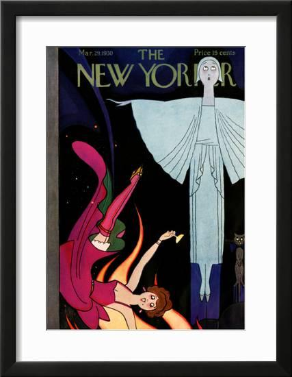 4b298d458 The New Yorker Cover - March 29, 1930 Framed Giclee Print by Rea Irvin at  AllPosters.com