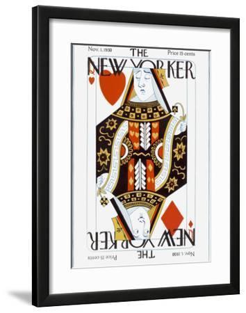 The New Yorker Cover - November 1, 1930