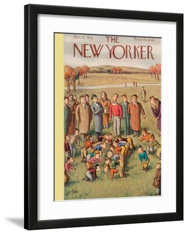 The New Yorker Cover - October 17, 1936