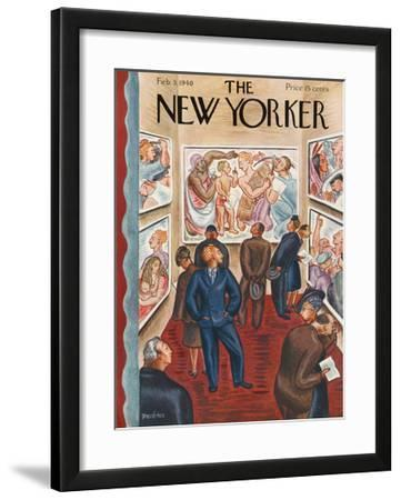 The New Yorker Cover - February 3, 1940