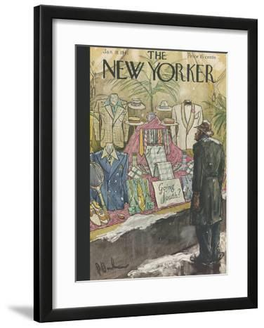 The New Yorker Cover - January 18, 1941