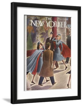 The New Yorker Cover - January 31, 1942