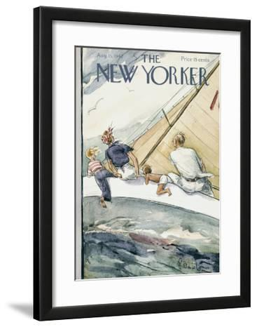The New Yorker Cover - August 15, 1942