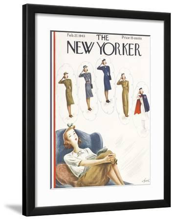 The New Yorker Cover - February 27, 1943