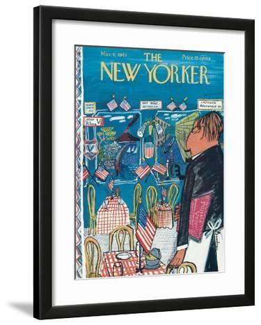 The New Yorker Cover - March 6, 1943