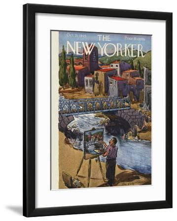 The New Yorker Cover - October 20, 1945