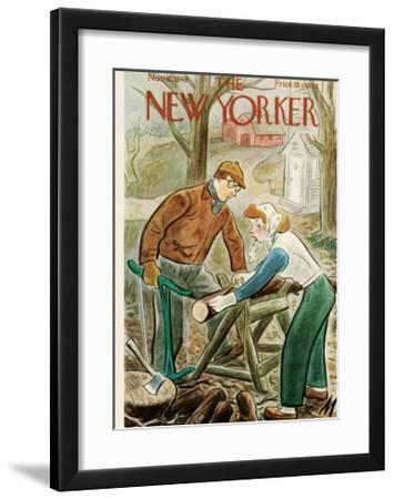 The New Yorker Cover - November 16, 1946