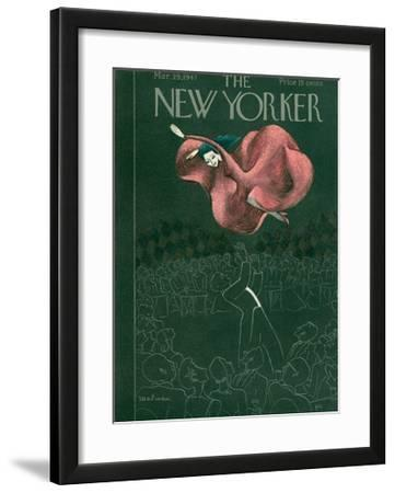 The New Yorker Cover - March 29, 1947
