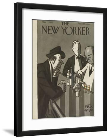 The New Yorker Cover - March 11, 1950