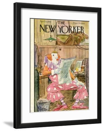 The New Yorker Cover - April 15, 1950