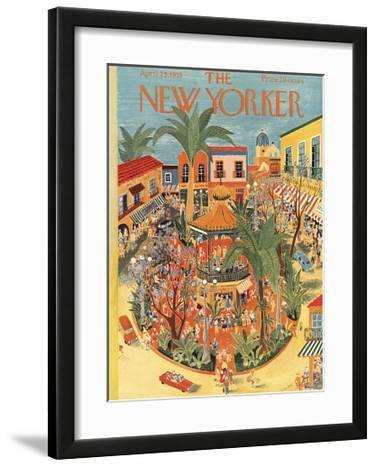 The New Yorker Cover - April 25, 1953