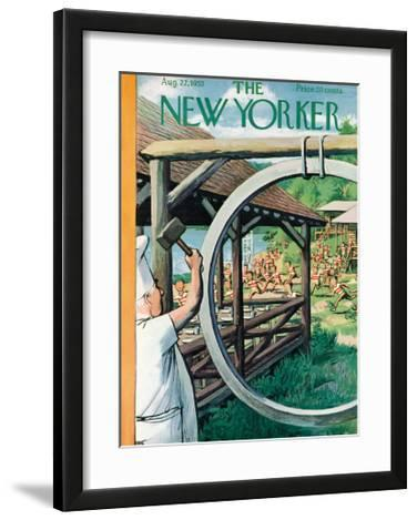 The New Yorker Cover - August 22, 1953
