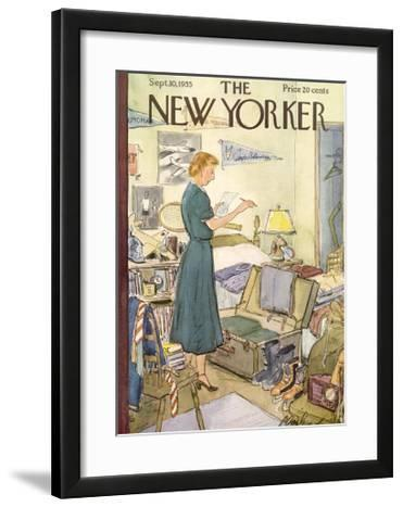 The New Yorker Cover - September 10, 1955