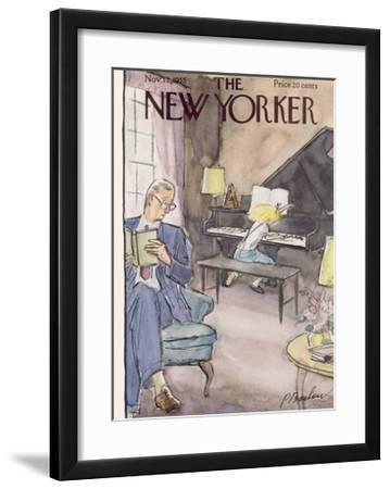 The New Yorker Cover - November 12, 1955