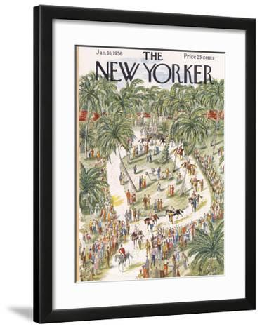 The New Yorker Cover - January 18, 1958