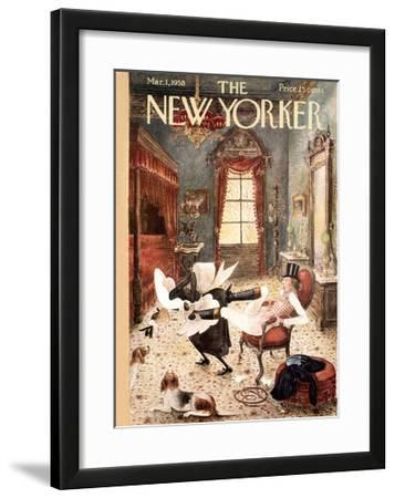 The New Yorker Cover - March 1, 1958